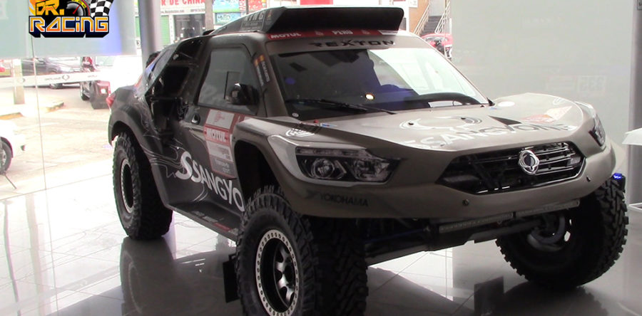 SsangYong will play the Dakar 2019 with Óscar Fuertes and Diego Vallejo in the Nuevo Rextron DKR
